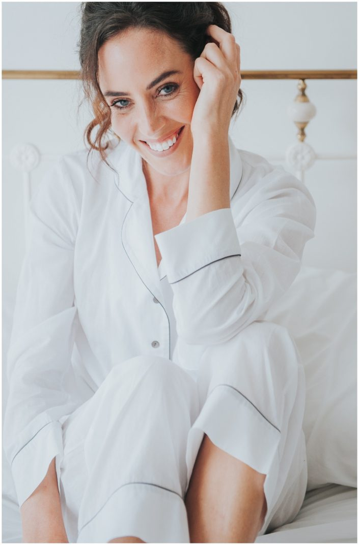 Rachael In Silk & Grey