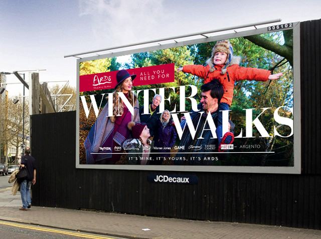 Ards Shopping Centre Winter 17 Campaign