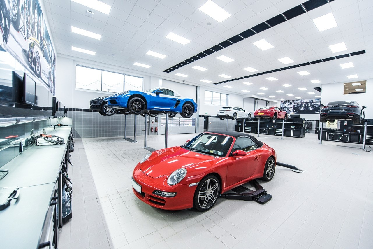 DEA Work Labs Italy and Porsche Belfast