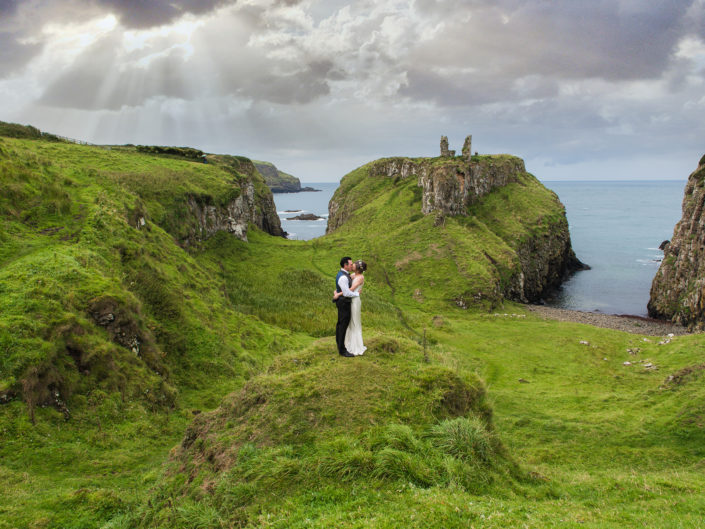 Mindy and Seamus - Dunservick Castle, Northern Ireland