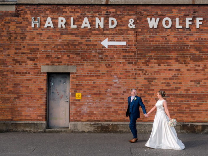 Melanie and Gary Wedding City Hall Titanic Hotel Harland and Wolff
