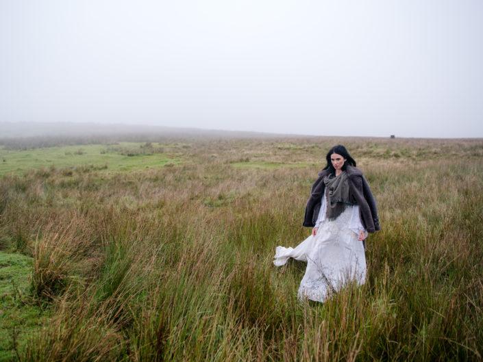 Caroline Rereclamation Dress Black Mountain Belfast