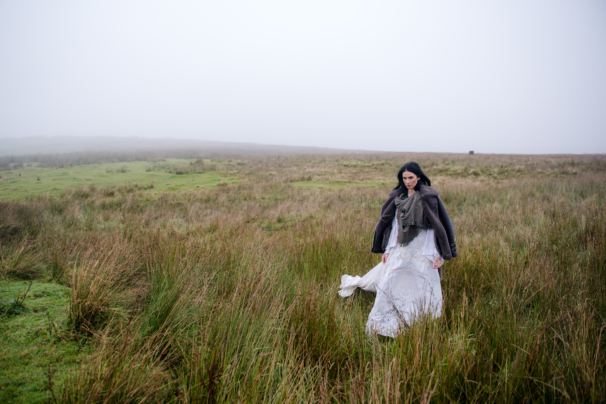 Caroline Rereclamation Dress Black Mountain Belfast