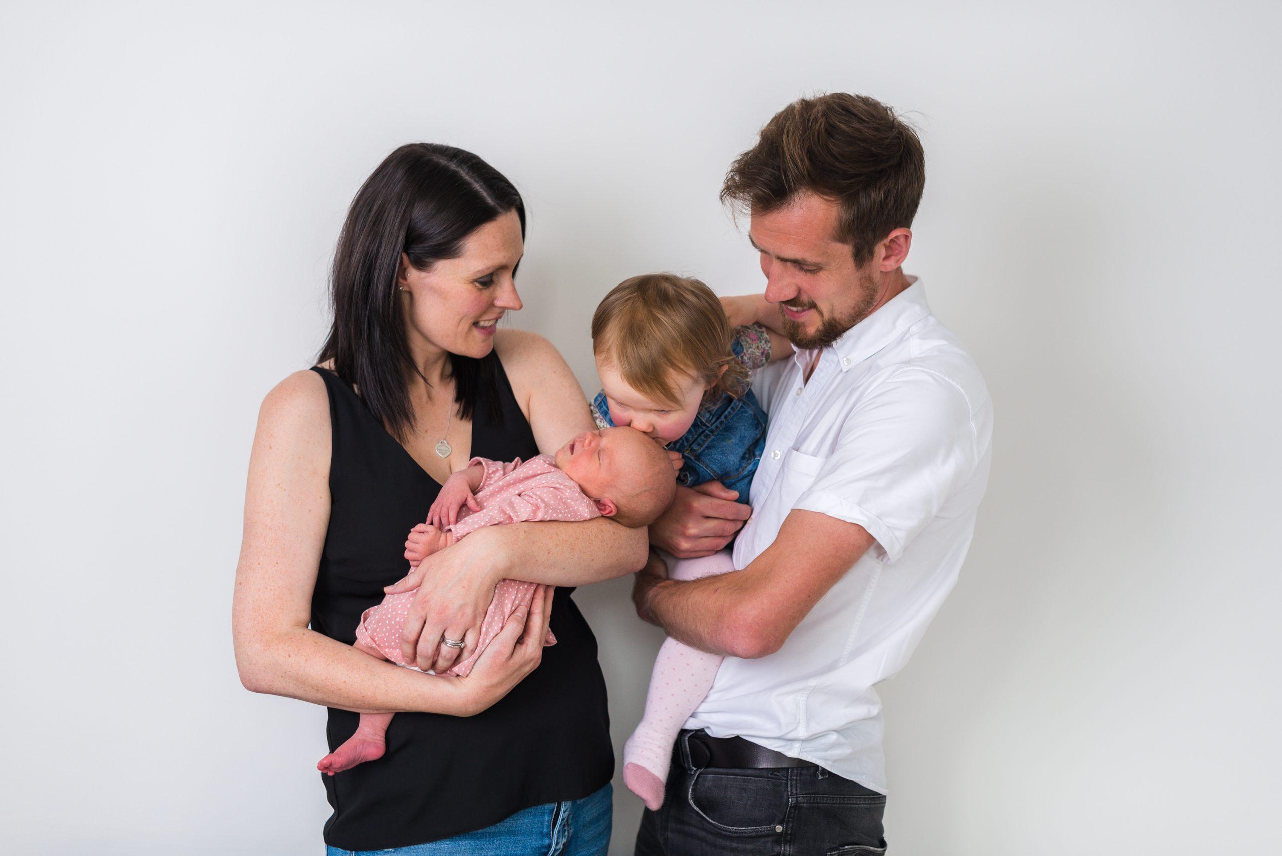Kane Family at Home Newborn Session