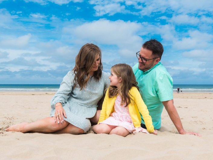 McClusky Family beach shoot